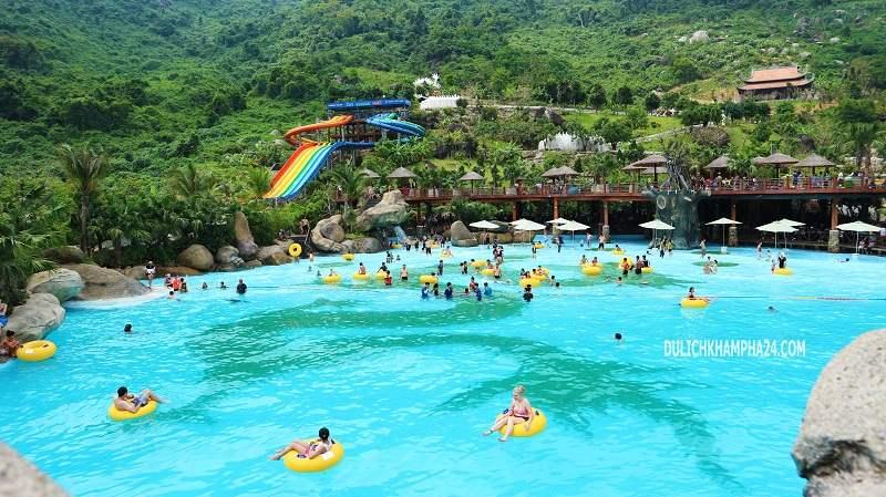 Bể bơi tạo sóng - Núi Thần Tài