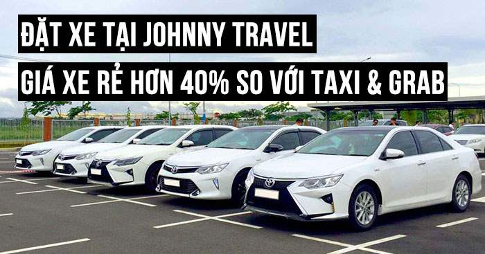 Đặt xe tại Johnny Travel giá rẻ đến 40%